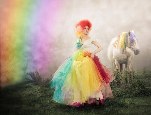 Trend Alert! From Rainbow Brite to Rainbow Brides, Life is Getting Colorful!